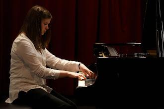 Photo: Evelien Goedhart tijdens het Jan Pasveerconcours 2012  Fotografie: Ardito / Jan-Evert Zondag