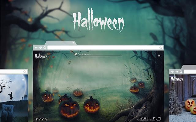 Halloween New Tab