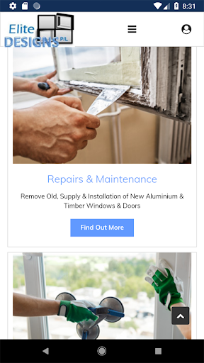Screenshot for Elite Designs - Window repair specialist in United States Play Store