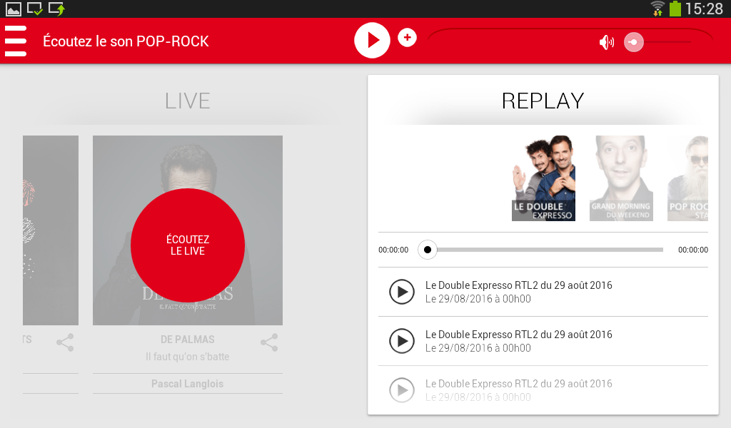 RTL2 - Le son Pop-Rock- screenshot