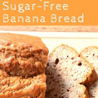 Healthy Sugar-Free Banana Bread
