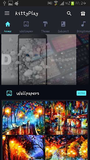 KittyPlay Wallpapers Ringtones screenshot 7