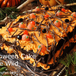 Halloween Cake Gone Wild