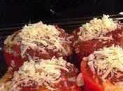 Stuffed Mini Peppers W/italian Sausage