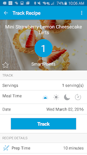 Weight Watchers Mobile- screenshot thumbnail