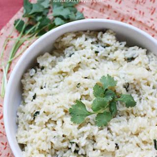 Sweet Cilantro Rice