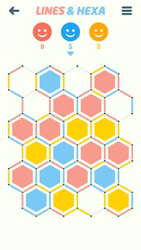 Lines and Hexa 1.0 screenshots 1