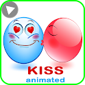 """💖WhatsApp Animated Kiss Stickers """"Stickers Maker"""" icon"""