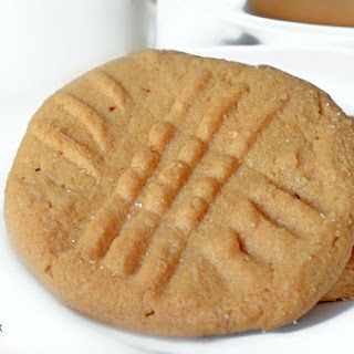 3 Ingredient Old Fashioned Peanut Butter Cookies Recipe