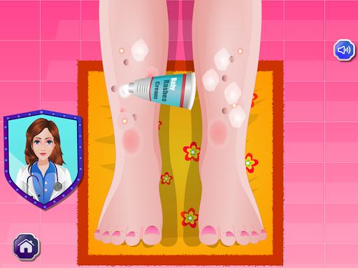 【免費休閒App】孩子病醫生遊戲-APP點子