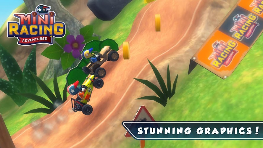 Mini Racing Adventures Mod Apk v1.0 (Unlimited Money)