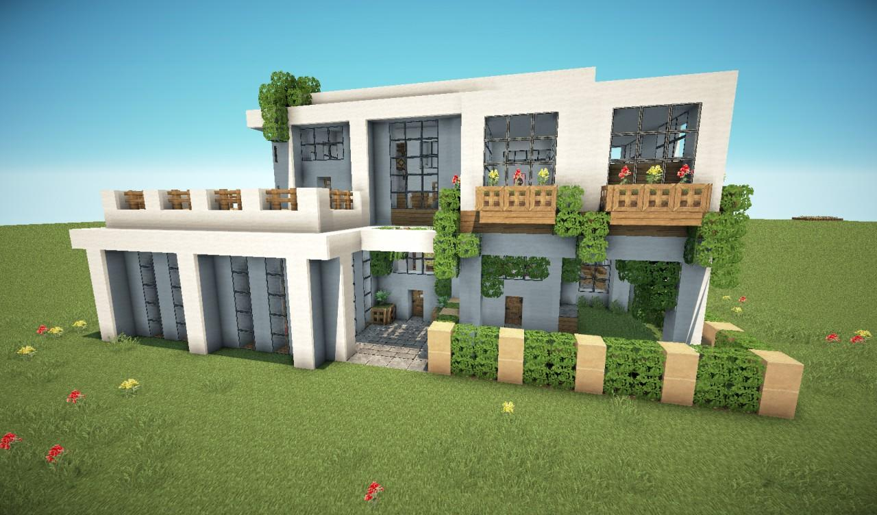 Modern House Ideas MCPE MODS Android Apps On Google Play - Modern house minecraft pe