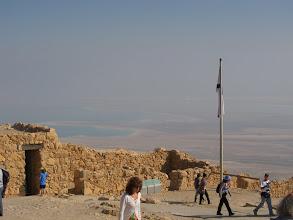 Photo: Dead Sea from Masada