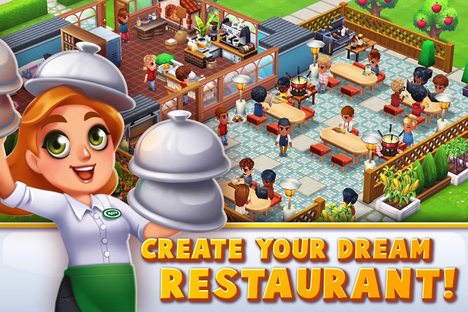 3d Restaurant Design App : Food street restaurant game android apps on google play