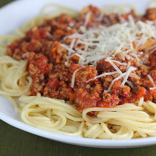 Olive Garden Bolognese Sauce