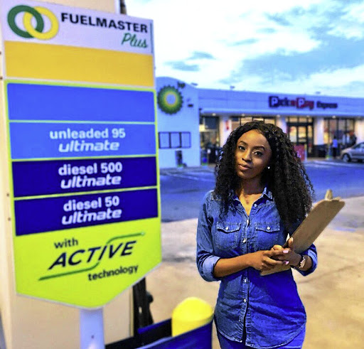Nokuphila Khumalo has achieved her goal of owning a service station and convenience store and is believed to be one of the youngest BP fuel station owners in the country. / Supplied