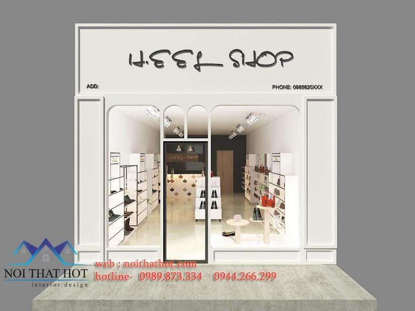 thiết kế shop giày dép túi xách heef 1