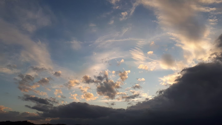 cielo spettinato di Tiz