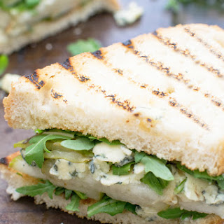 Pear, Stilton & Rocket Sandwich [Vegetarian] Recipe