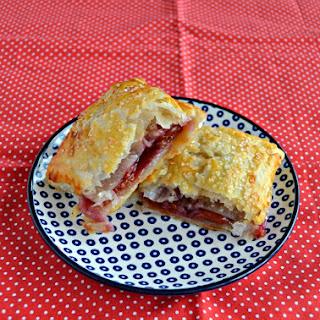 Easy Cherry Pie Turnovers.