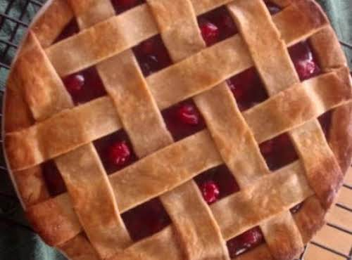 "Deep Dish Cherry Pie ""One of the tastiest cherry pie recipes I've..."