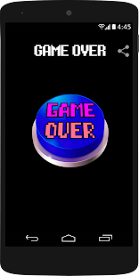 Game Over Theme Button - náhled