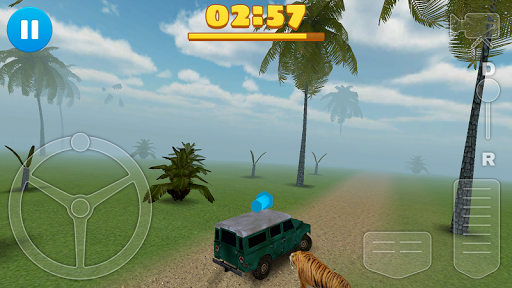 4x4 Tiger Chase - screenshot