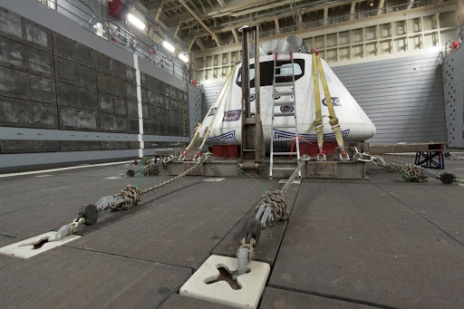 Orion Underway Recovery Test for EFT-1