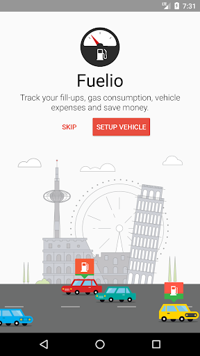 Fuelio: Gas log & costs Screenshot