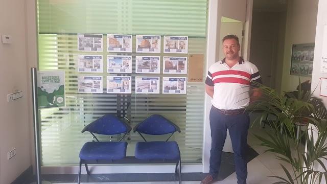 Miguel A. Gallardo, en Grupo Indalhome Agencia Inmobiliaria y Financiera.