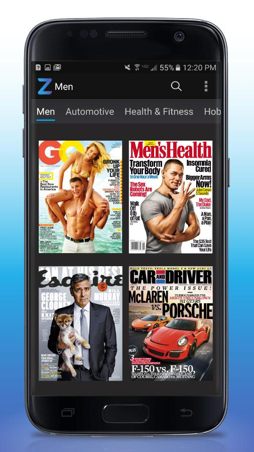 Zinio - Newsstand 📃 Magazines- screenshot