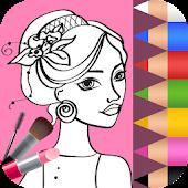 Tải Fashion Coloring Book APK