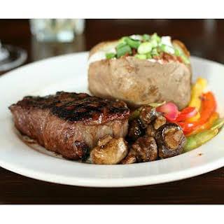 Bake Sirloin Steak.