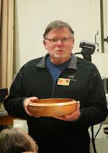 "Photo: Richard Webster - 12"" cherry bowl"