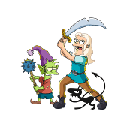 Disenchantment Wallpapers and New Tab