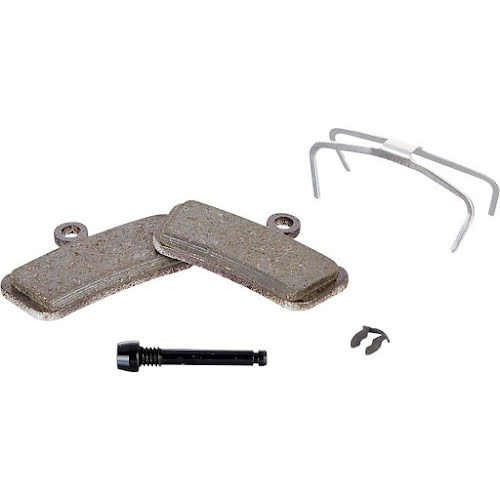 SRAM Guide, G2 and Avid Trail Disc Brake Pads, Steel Backed, Organic