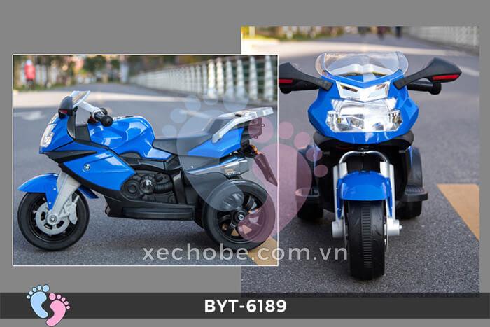 Xe mô tô điện 3 bánh BYT-6189 2