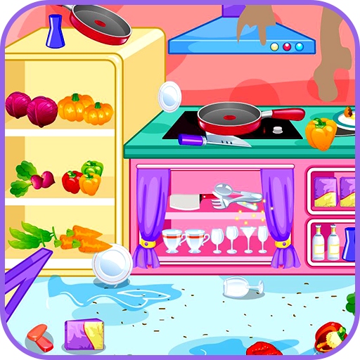Kitchen restaurant cleanup file APK Free for PC, smart TV Download
