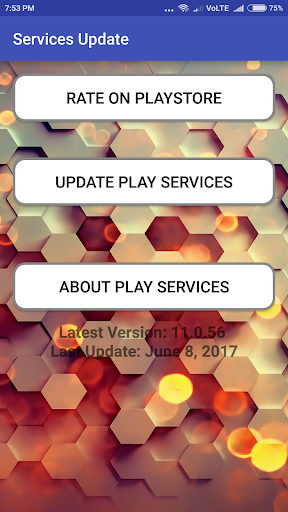 Play Services Update Error Fixed screenshot 1
