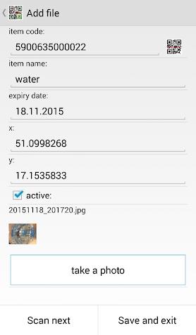 LoMag Data Scanner & Inventory Screenshot