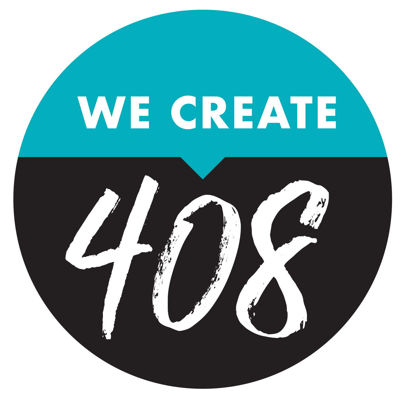 We Create 408 Logo