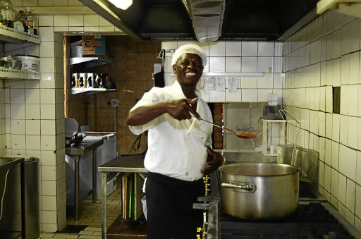 Mkhacani Richard Baloyi is the owner of La Mama Restaurant after working there for 30-plus years.