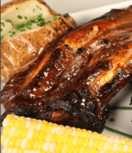 Glazed Beef Ribs | nuwave oven recipe - beef -1