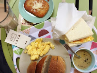 3房2廳 早餐