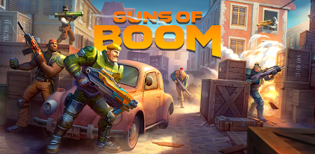 دانلود Guns of Boom - Online PvP Action