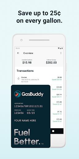 GasBuddy: Find Cheap Gas Prices & Fuel Savings  screenshots 1