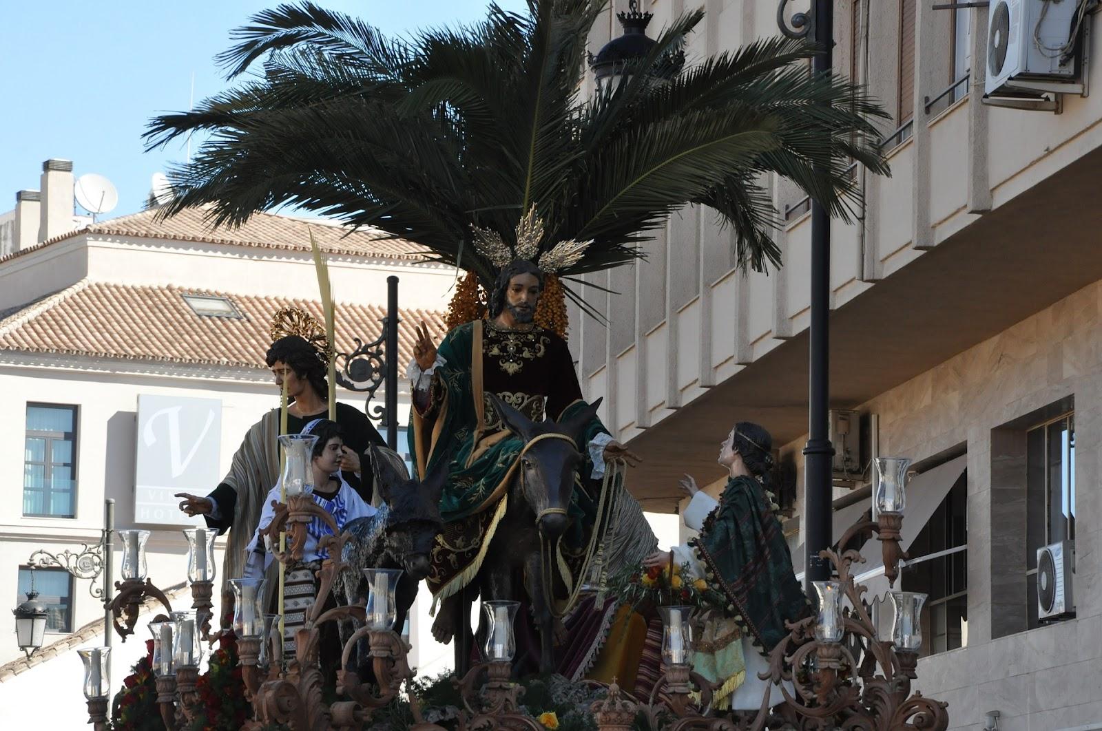 La Pollinica Semana Santa Málaga