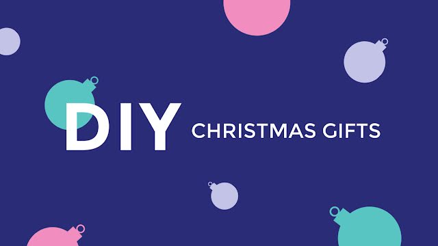DIY Christmas Gifts - Christmas Template