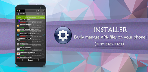 Installer - Install APK - by Rhythm Software - Productivity Category