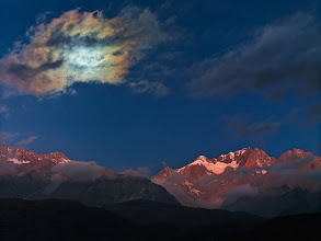 Photo: Shot of the Day - Moonbow and the Dragon